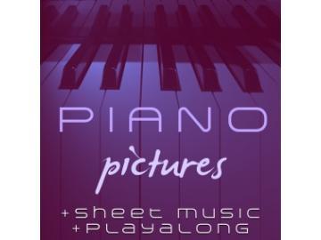 Piano Pictures Album + pdf-Noten + Playalong